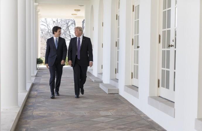 Les frappes américaines : Justin Trudeau et le nez du chat!