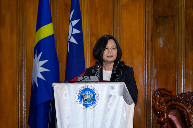 """Taiwan Hopes for """"Oceans of Democracy"""""""